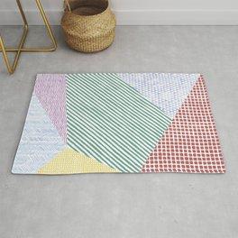 Chalk Patterns Rug