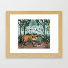 Never Not Broken Framed Art Print