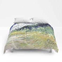 Surf's Up Big Wave Juul Art Comforters
