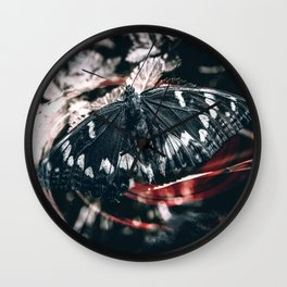 Above the darkness Wall Clock