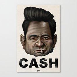 CASH II Canvas Print