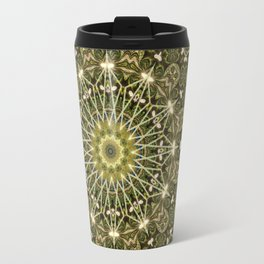 Geometric Forest Mandala Travel Mug