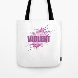Funny Video Games Don't Make Us Violent Lag Does Gamer Video-game Gifts Tote Bag