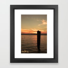 Italian Waters  Framed Art Print