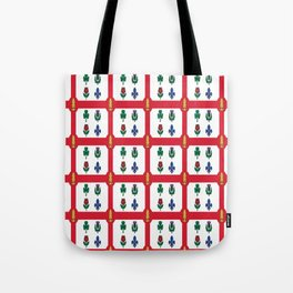Flag of montreal -montrealais,montrealer,montreales,quebec, canada. Tote Bag