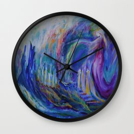 At the Portal Wall Clock