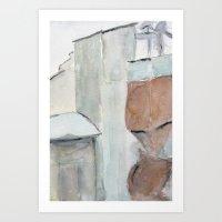 Building No. 6 Art Print