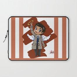 Chibi Castiel (Supernatural) Laptop Sleeve