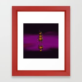 Totem In Oils Framed Art Print