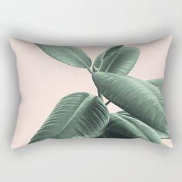 Ficus Elastica #25 #SummerVibes #foliage #decor #art #society6 Rectangular Pillow