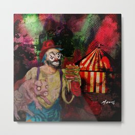 Happy the Clown Metal Print