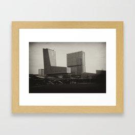 Lille : Euralille Nord Framed Art Print