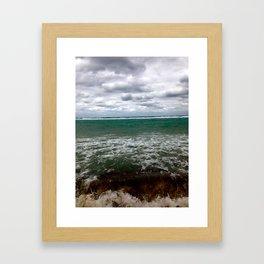 Stormy Morning Framed Art Print