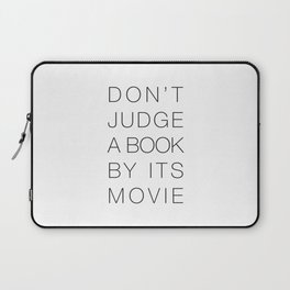 Don't Judge a Book By its Movie Laptop Sleeve