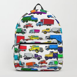 Truck Pattern Backpack