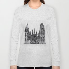 Rouen Cathedral Long Sleeve T-shirt