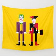Joker and Harley Quinn Wall Tapestry