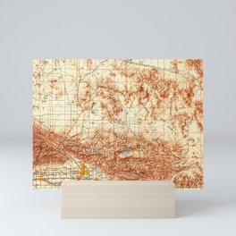 CA San Bernardino 299869 1956 Topographic Map Mini Art Print