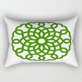 Celtic Heart Pattern Rectangular Pillow