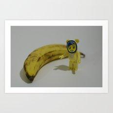 banana boy Art Print