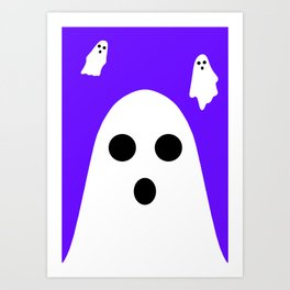 Halloween Series: Ghost Art Print
