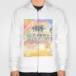 Basseterre St Kitts The Circus Street Scene Afternoon Hoody