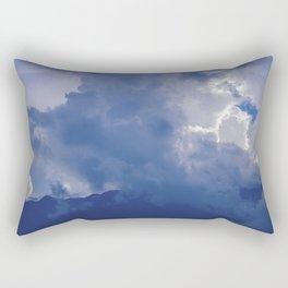 Mountains and clouds Rectangular Pillow