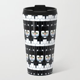 Black Bunny Rabbit - Super Cute Animals Travel Mug