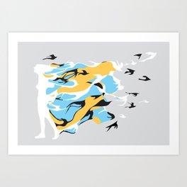 I'm like a bird Art Print