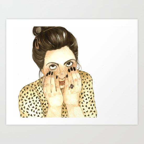 Fo Fo Leon Art Print