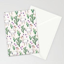Llama Llamarama + Cactus Stationery Cards