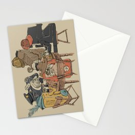 Polaroid Poker Stationery Cards