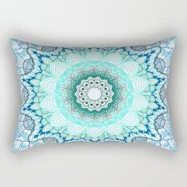 Snow Queen Mandala  Rectangular Pillow