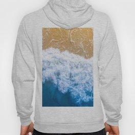 Ocean blue sand brown Hoody
