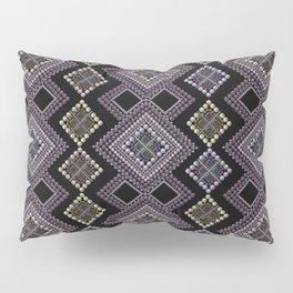 Folk beads circles ethnic pattern Pillow Sham