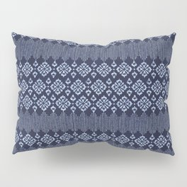 Thai Indigo Batik 1 Pillow Sham