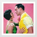 Gene Kelly & Cyd Charisse - Pink - Singin' in the Rain by classicmovieart
