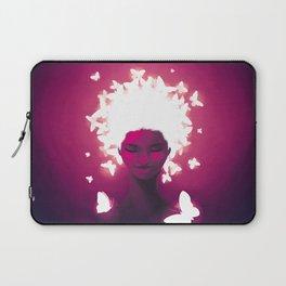 Luminescent Fuchsia Laptop Sleeve