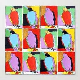Three Pigeons Canvas Print
