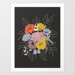 Like Fireworks Art Print