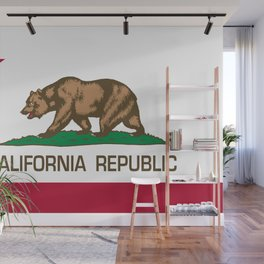 California flag Wall Mural
