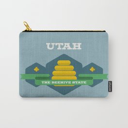 Utah - Redesigning The States Series Carry-All Pouch