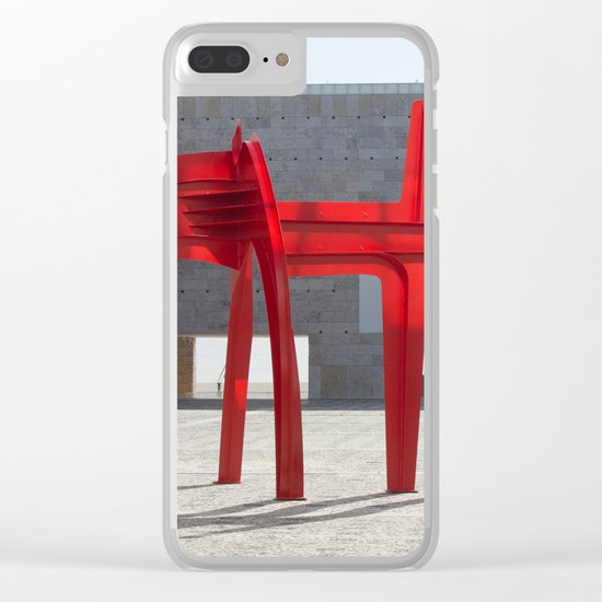 'Untitled' 1968 CCB Lisboa Clear iPhone Case