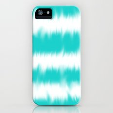 Turquoise Tie Dye iPhone (5, 5s) Slim Case