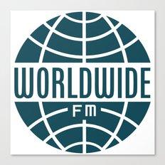 WorldWide FM Canvas Print