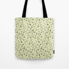 Doodles Pattern Tote Bag