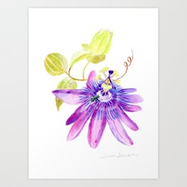 Bee Passionate by Teresa Thompson Art Print
