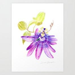 Bee Passionate by Teresa Thompson Art Print
