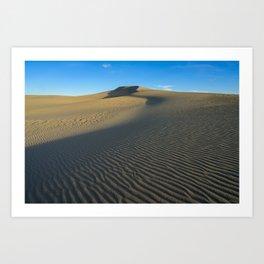 Killpecker_Sand_Dunes 3, Sweetwater_County, WY Art Print