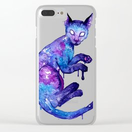 and it noticed Clear iPhone Case